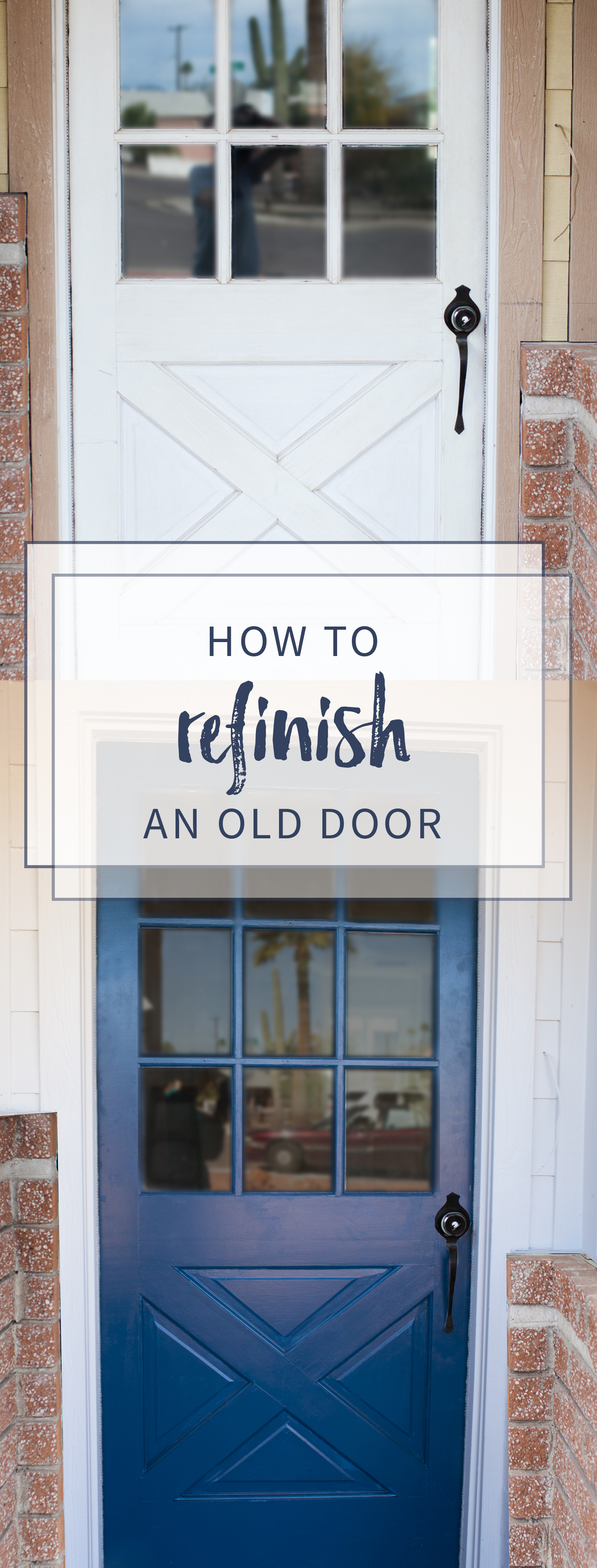 How to Refinish a Front Door