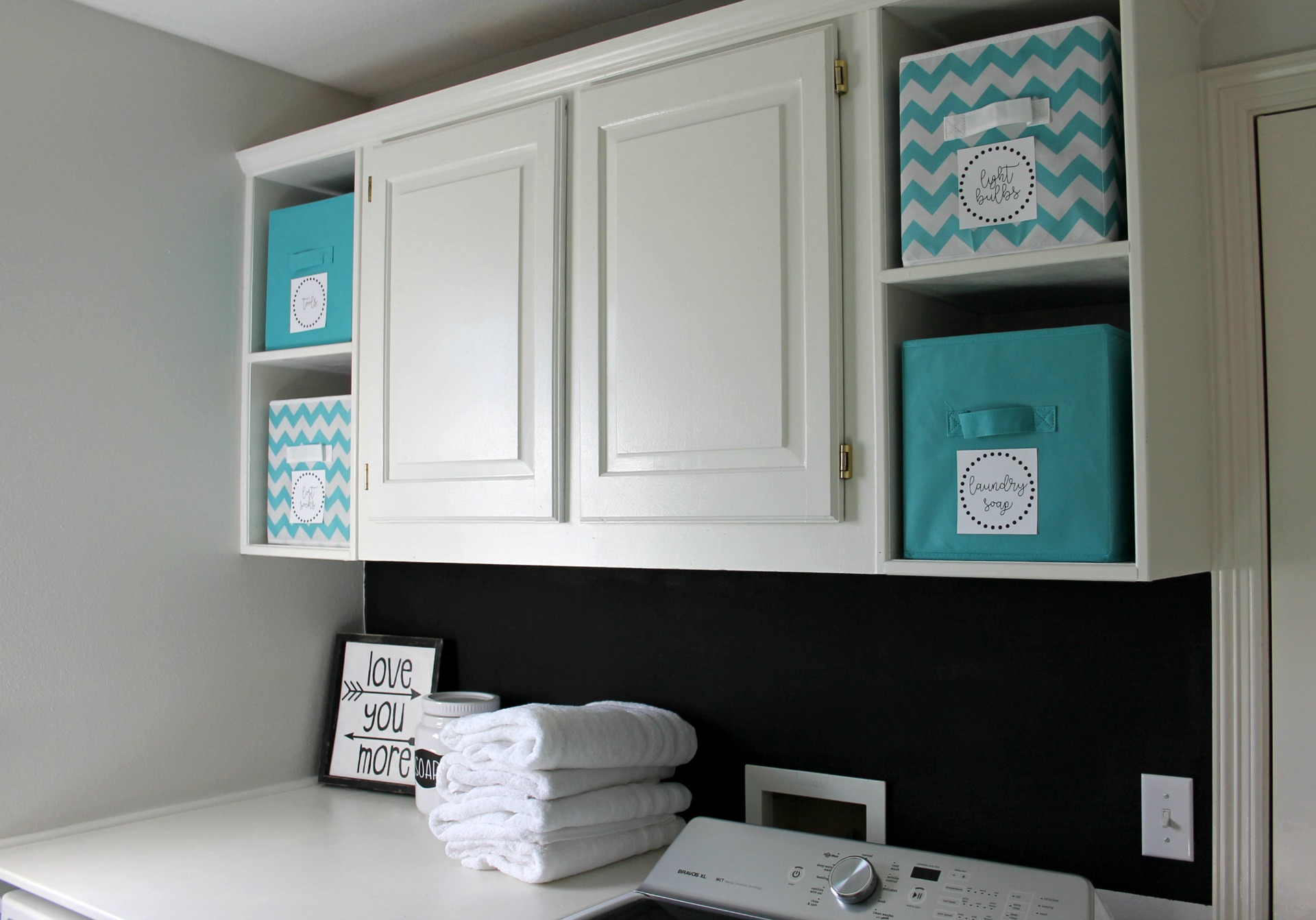 Laundry Room Makeover For Under 100