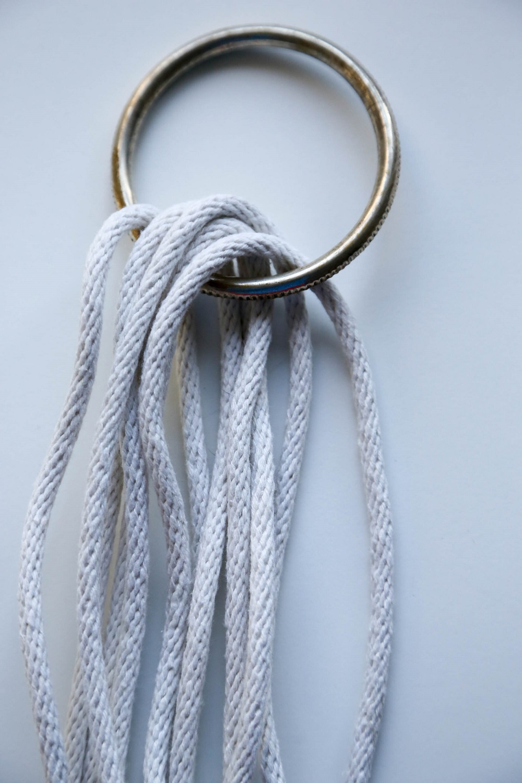 metal loop sash cord