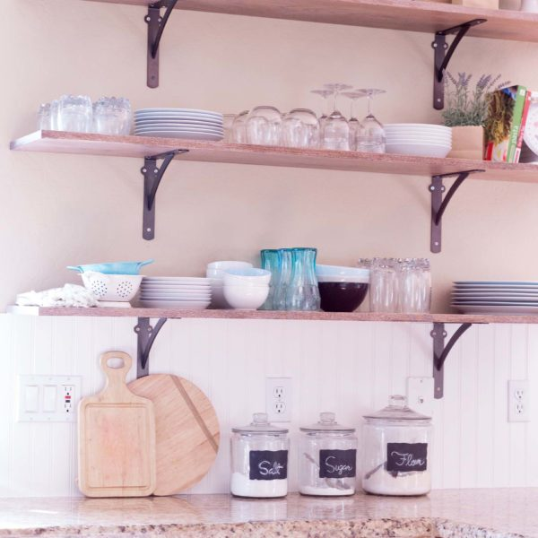Kitchen Cabinet Alternatives: 6 Creative Storage Solutions For A Kitchen With No Upper