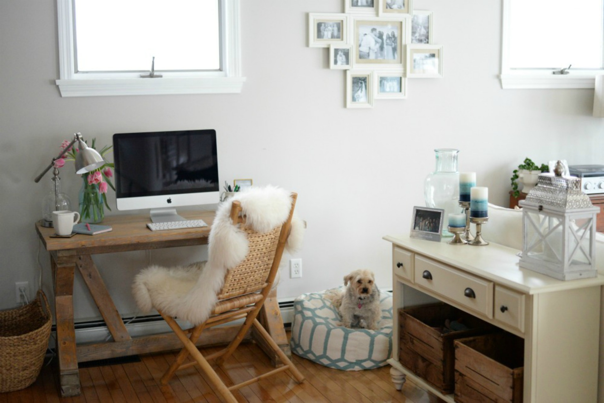 Why and how to make space for a small home office - How to make a home office in a small space gallery ...