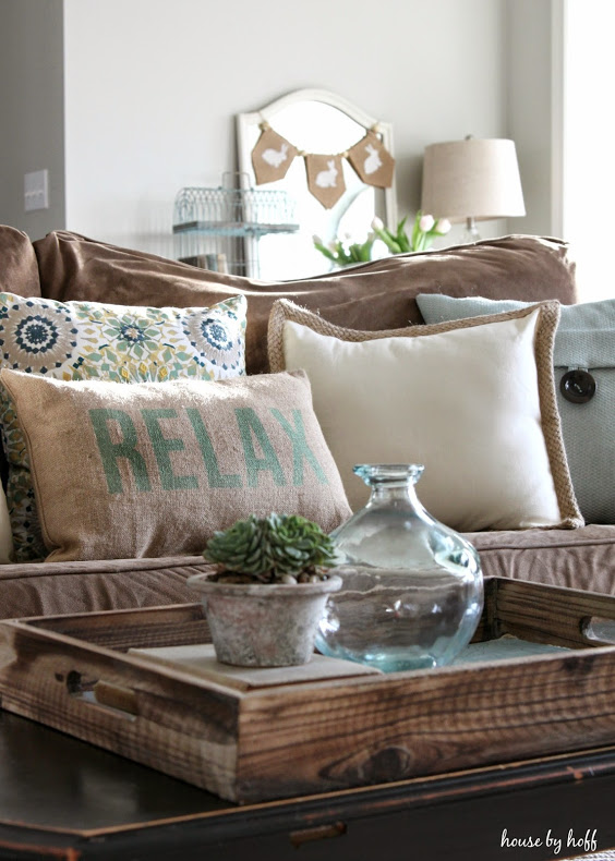 Spring Decorating Ideas: Add Pastel Pillows