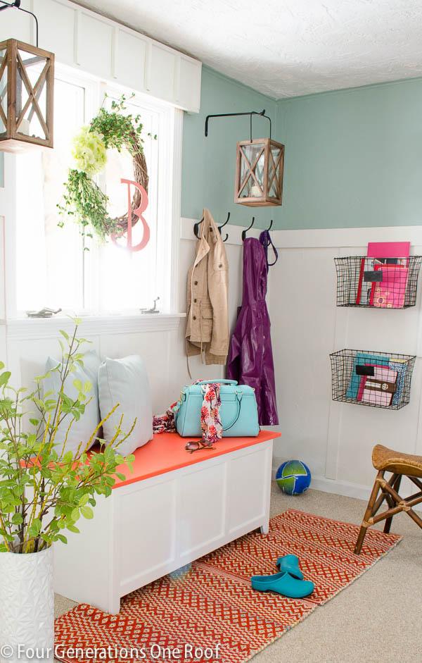Spring Decorating Ideas: Hang a Spring Wreath
