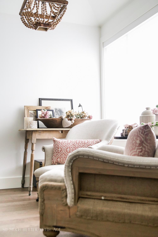 Spring Decorating Ideas: Add Soft Pink Decor
