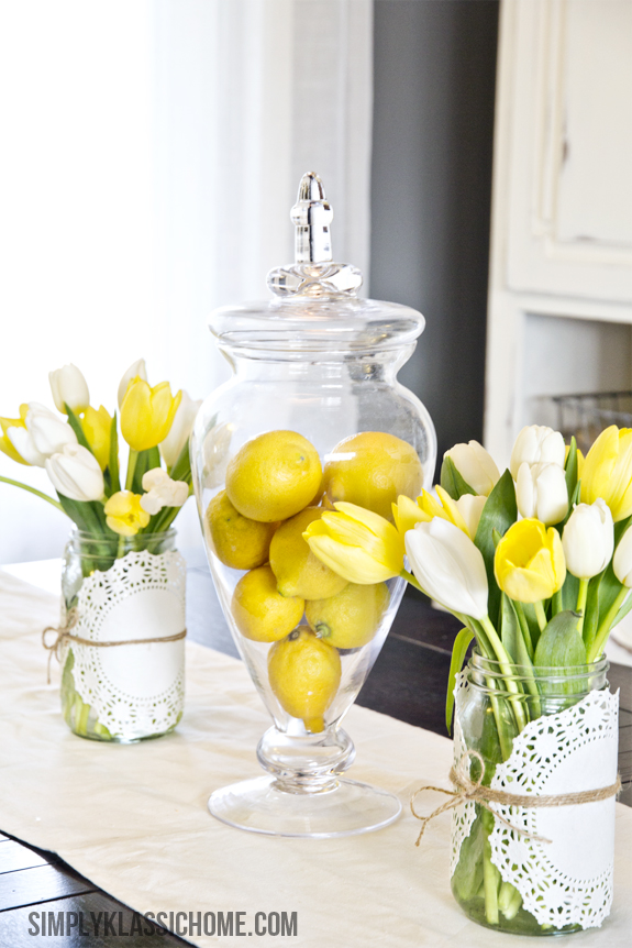 Spring Decorating Ideas Add Lemons Or Citrus
