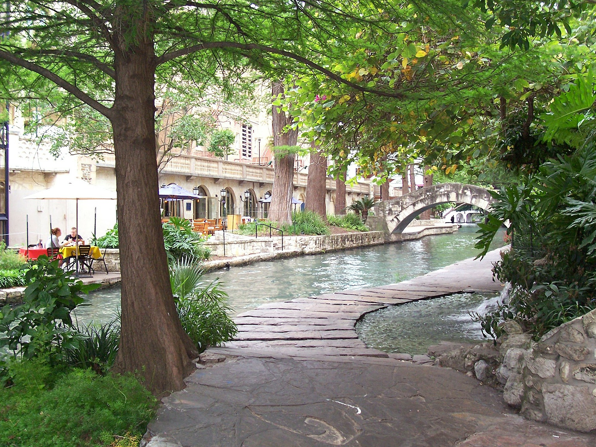 The River Walk and Outdoor Places in San Antonio Texas