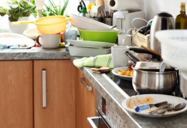 How to get over a clutter problem and eliminate clutter for good