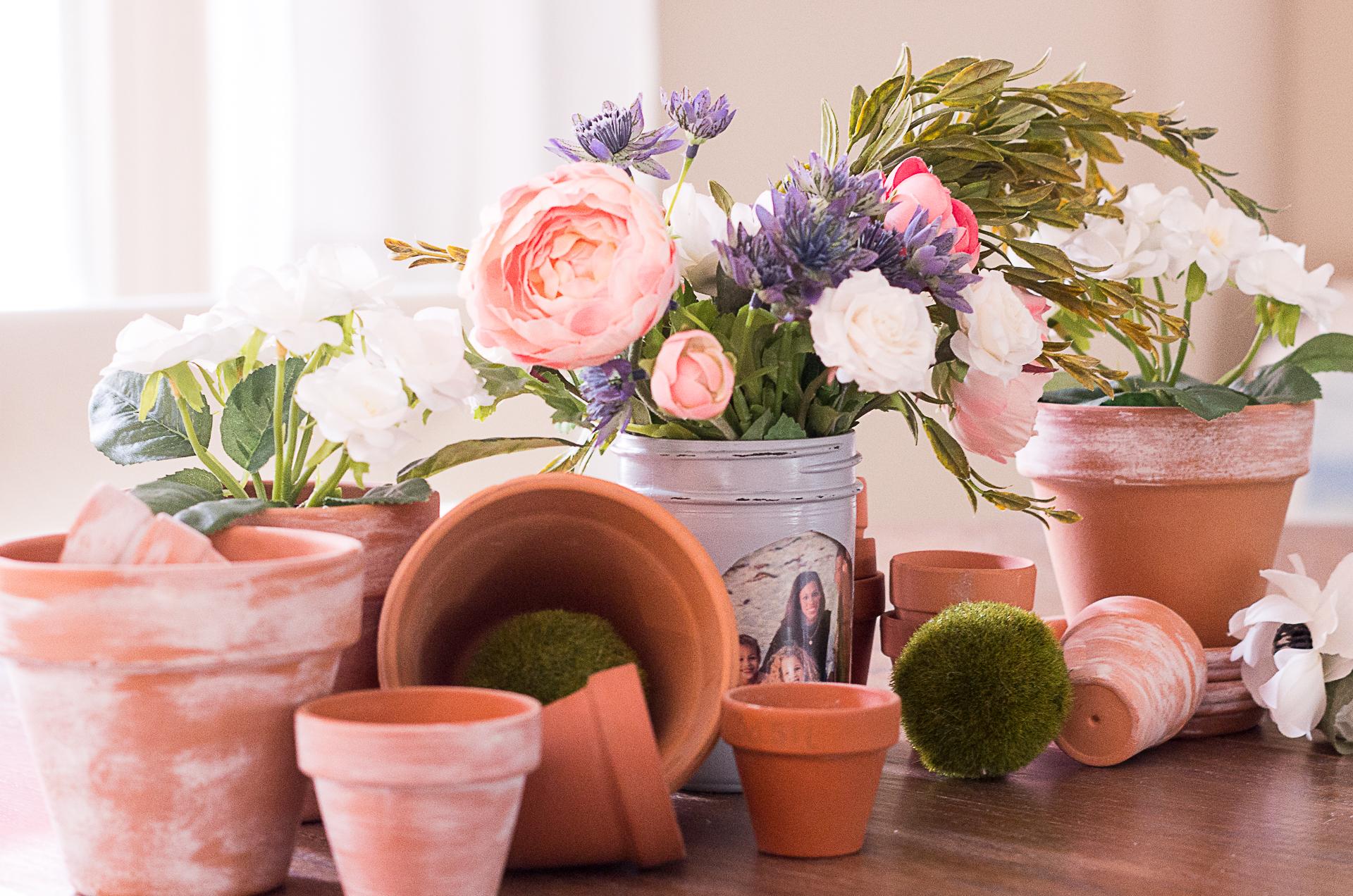 Diy mason jar vases mom will love cutout card craft picture frame mason jar vase flowers pots reviewsmspy