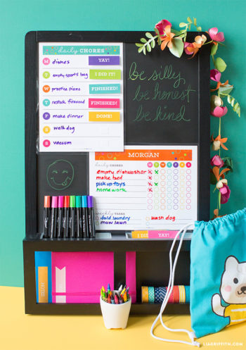 life storage lia griffith free printable chore chart template kids summer pinterest image