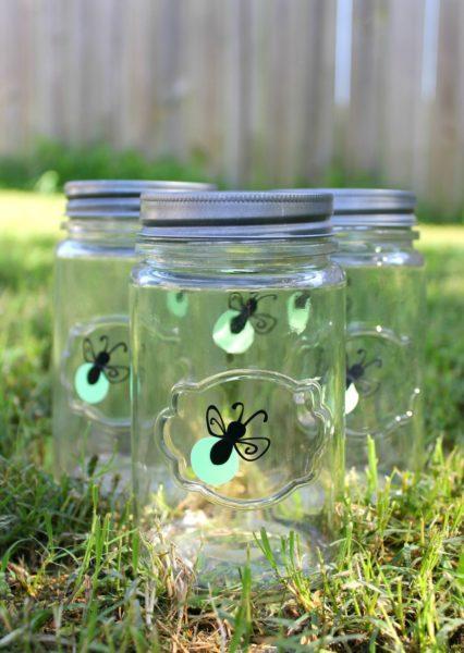 lightning bug summer diy for kids mason jar