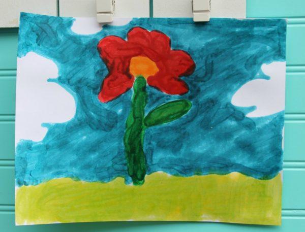 melted crayon art fun summer diy activities for kids