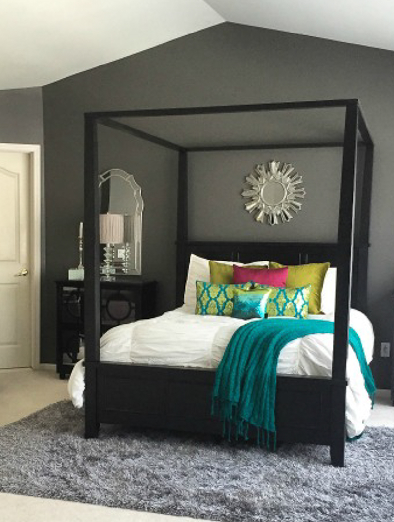 how to decorate a master bedroom - pick the right paint colors