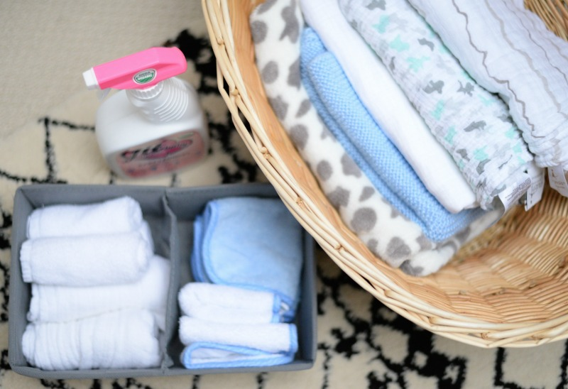 baby clothes hamper blankets burp clothes cleaner