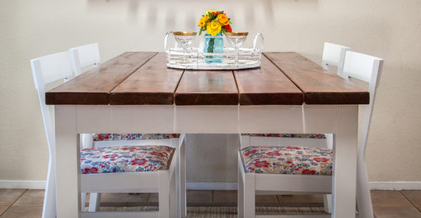 How To Beautifully Reupholster Dining Room Chairs (On A Budget)