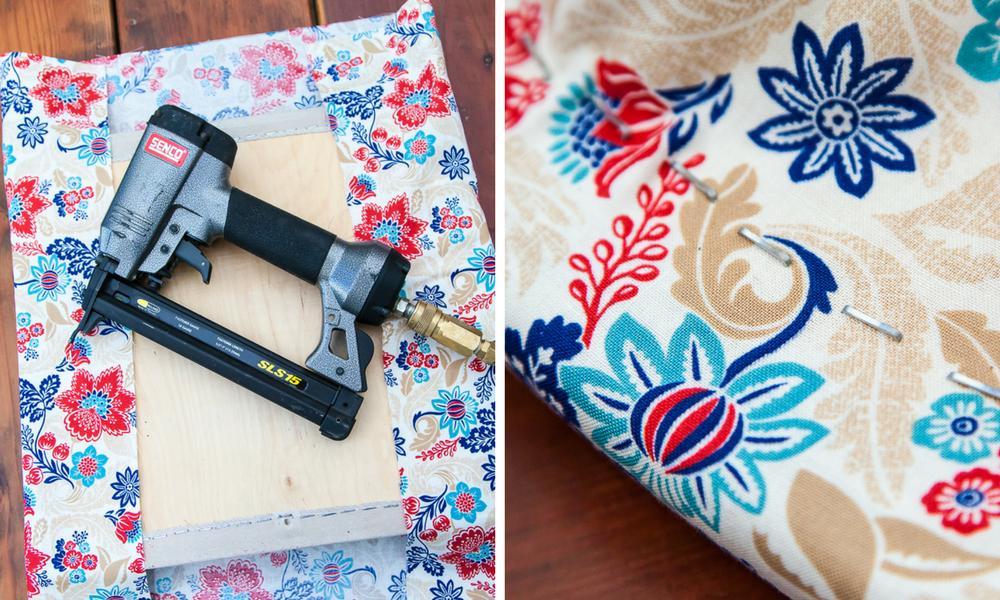 staple fabric to seat cushion staple gun