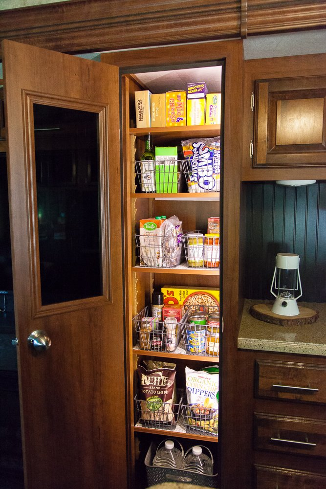 Delicieux Rv Storage Ideas Pantry Baskets Organization