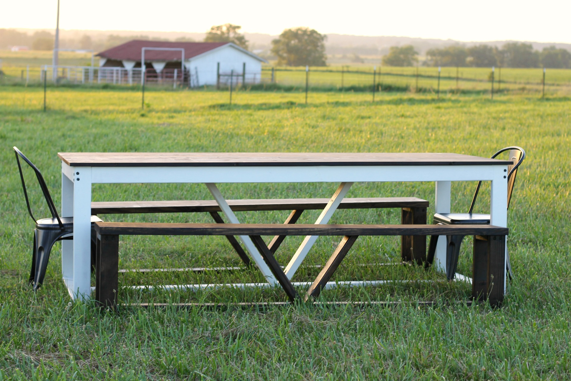 Make And Take Room In A Box Elizabeth Farm: How To Build A Modern DIY Farmhouse Table
