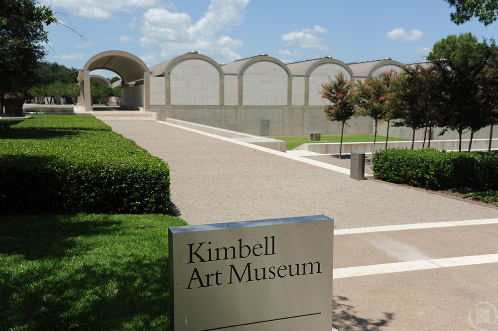 moving to fort worth - kimball art museum