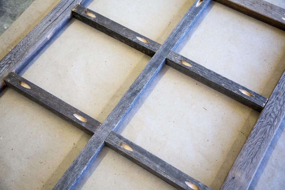 How to make a diy window frame farmhouse style life storage blog how to build a diy window frame farmhouse style decor vintage rustic solutioingenieria Gallery