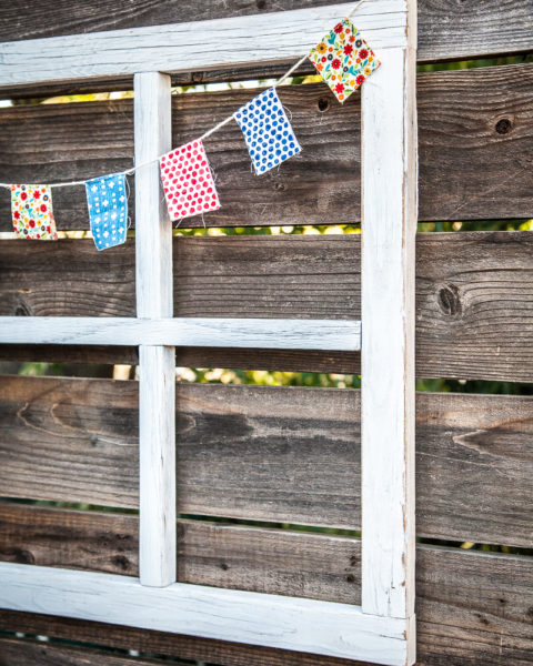 How To Make a DIY Window Frame - Farmhouse Style - Life Storage Blog