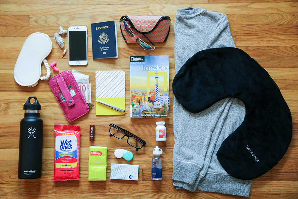 purse - how to pack for europe in a carry on