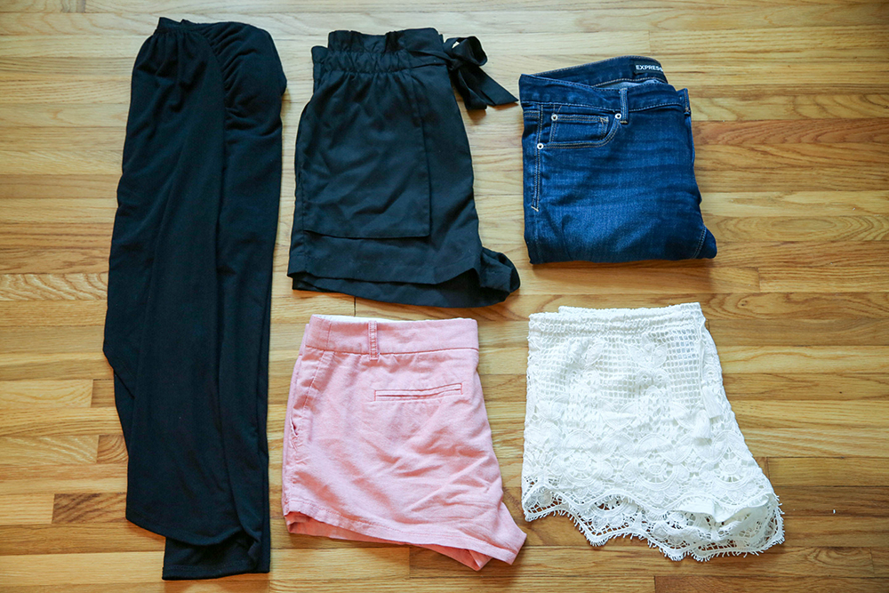 pants - how to pack for europe in a carry on