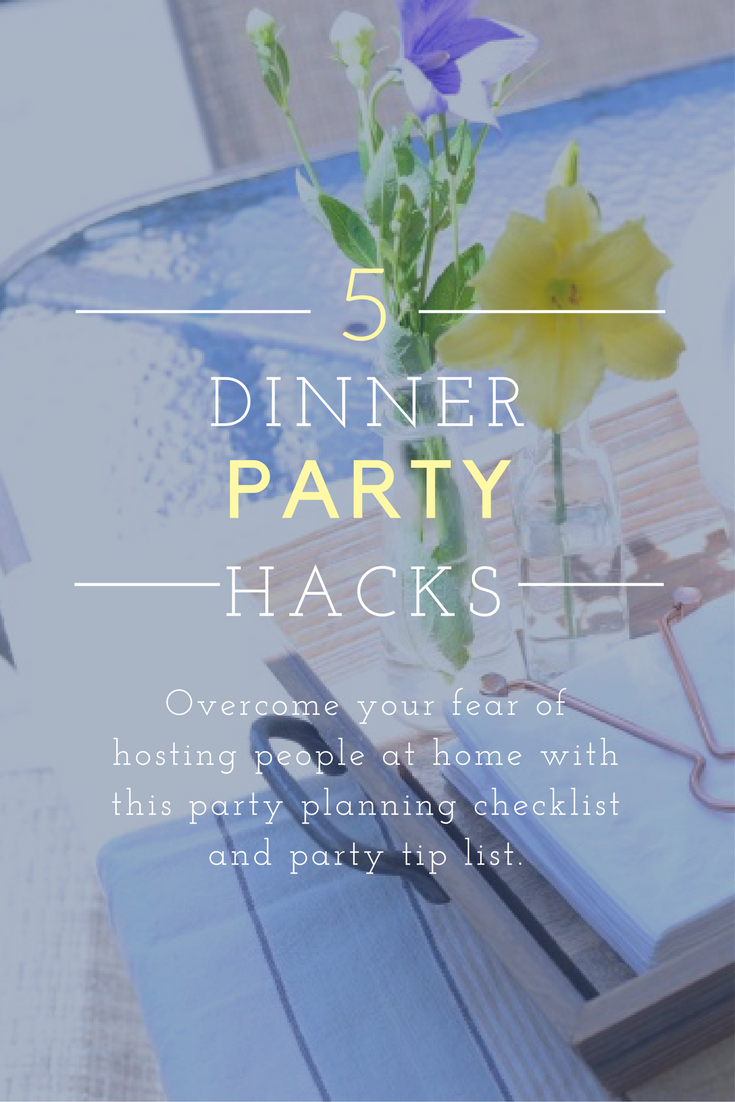 party planning checklist and hacks