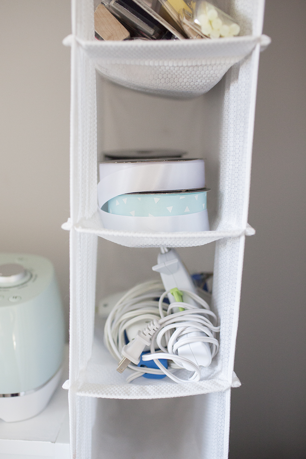Craft Closet Organization Ideas Part - 44: Hanging Shoe Organizer For Craft Closet Organization