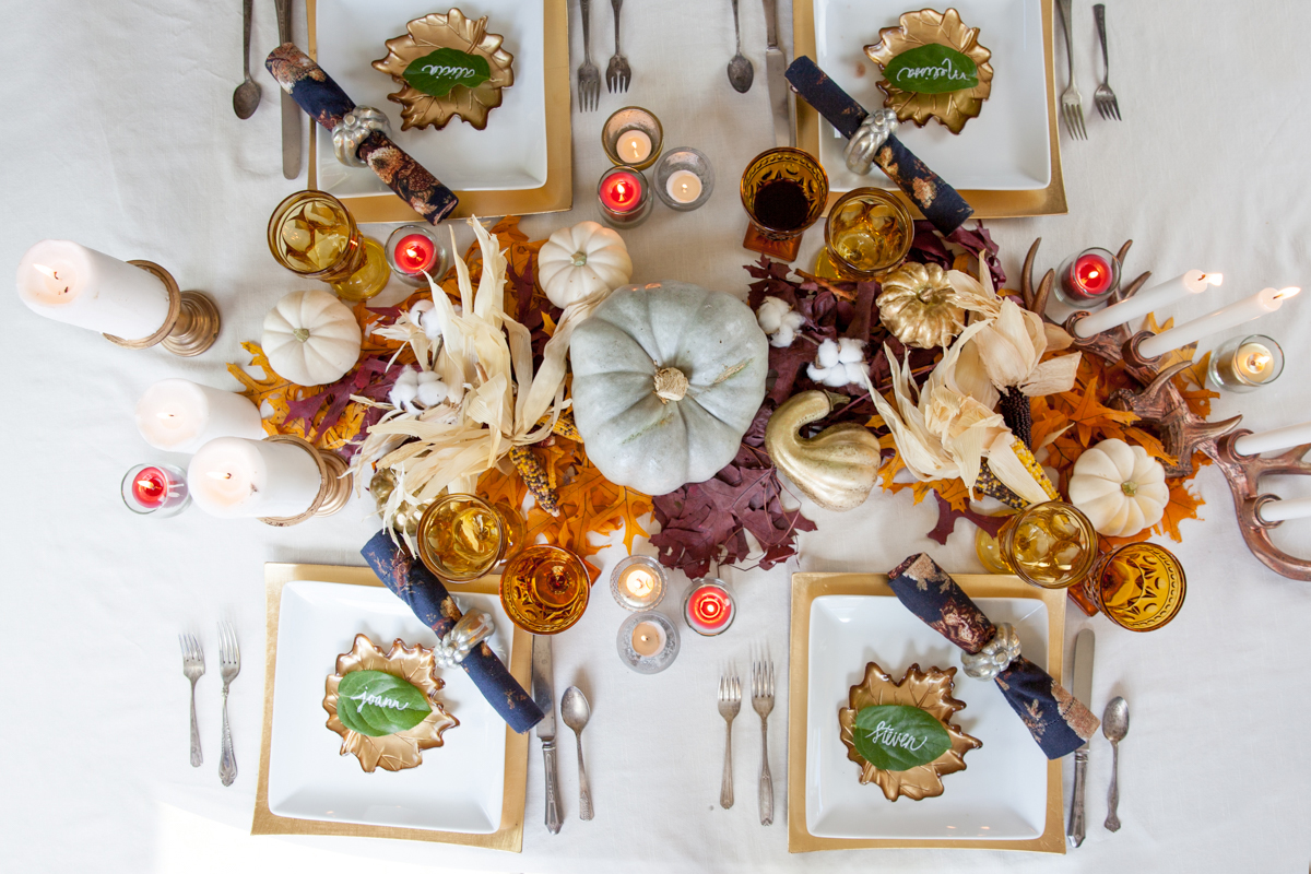 Fall tablescape ideas that are inexpensive