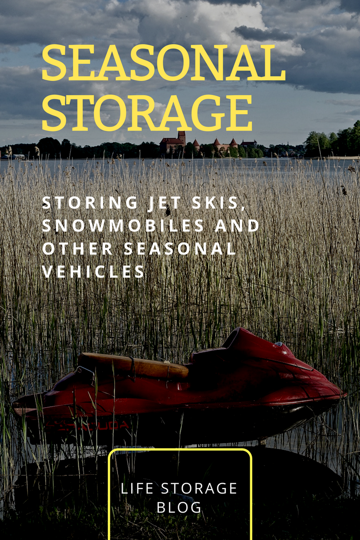 Storage Tips for Jet Skis, Snowmobiles and Other Seasonal Toys
