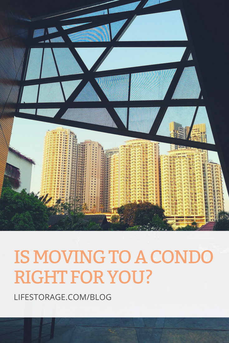 Is moving to a condo right for you? Learn about pros and cons of condo life.
