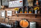 Outdoor Fall Decorating Ideas - outdoor sink decor