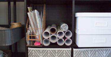 How to - craft closet organization ideas