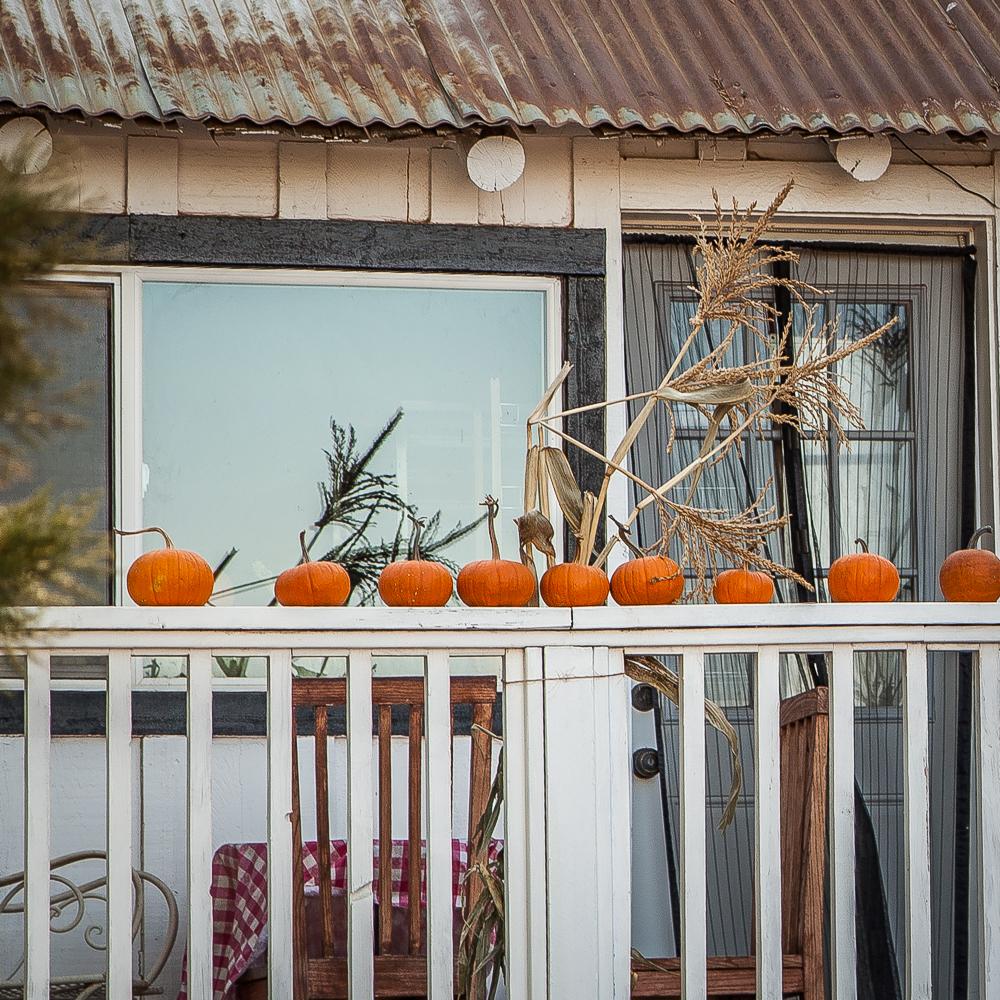 fall home maintenance pumpkins porch decor