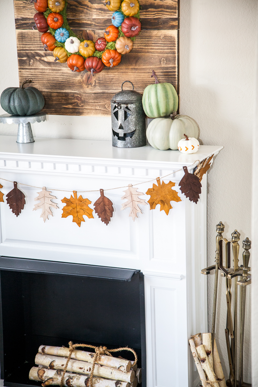 fall home maintenance tips - decorating and fire place safety