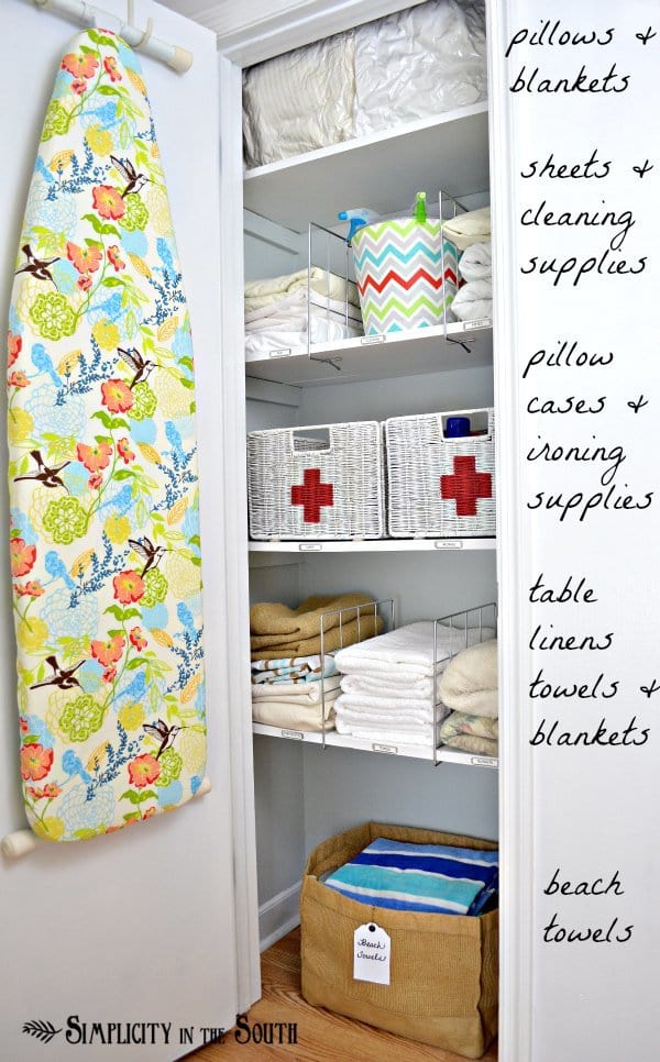 Hall Closet Organization Ideas And Hall Closet Storage Ideas   Shelf  Dividers