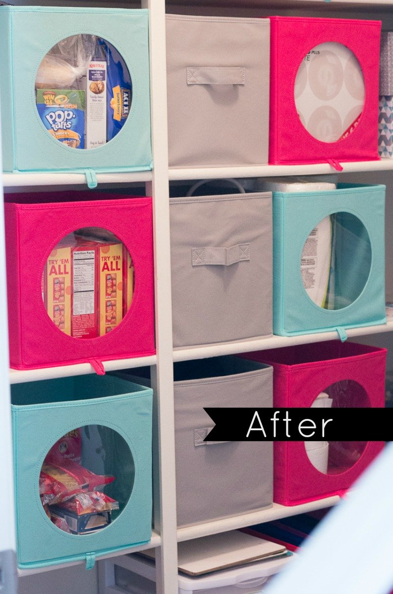 hall closet organization and storage ideas - makeover after - color scheme