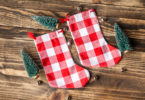 DIY stocking stuffers tutorials ideas red buffalo check stockings
