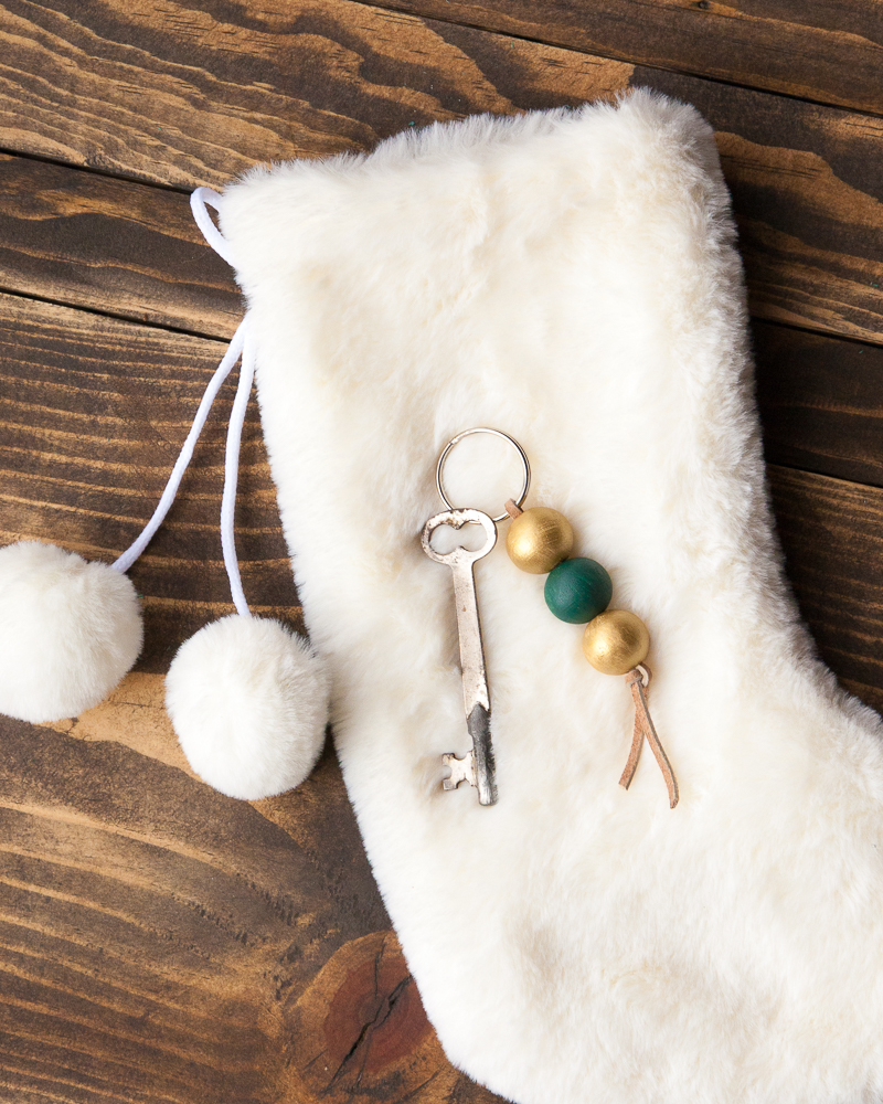 DIY Stocking Stuffer idea 2 - beaded chain