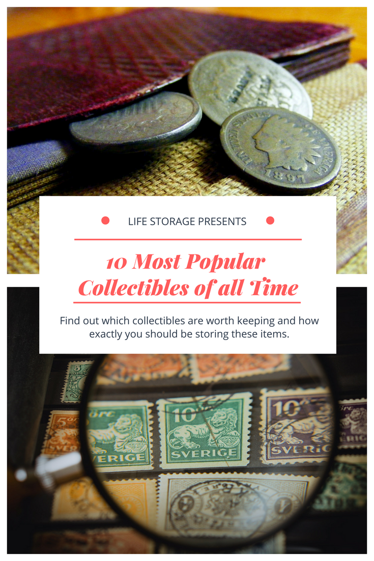 The 10 Most Popular Collectible Items And How To Store Them