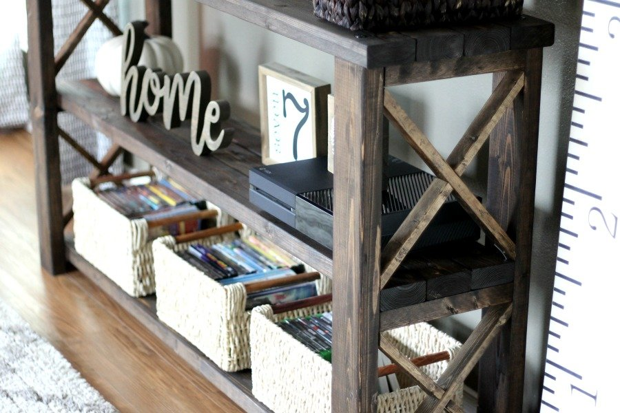 How To Build A Diy Console Table For