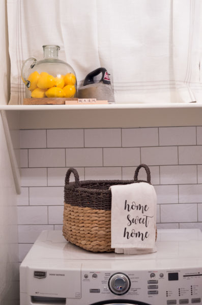 laundry room home organization tips