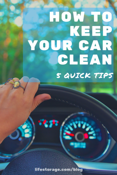 how to keep your car clean without spending time
