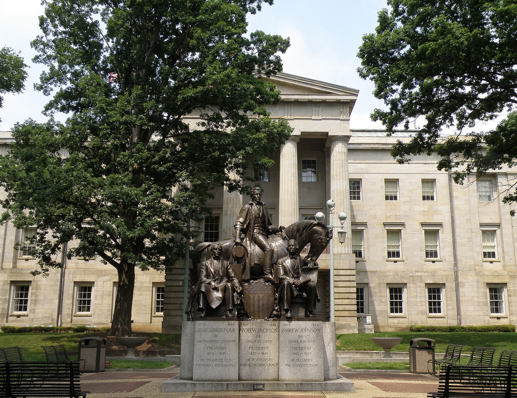 Raleigh NC full of history statue museums