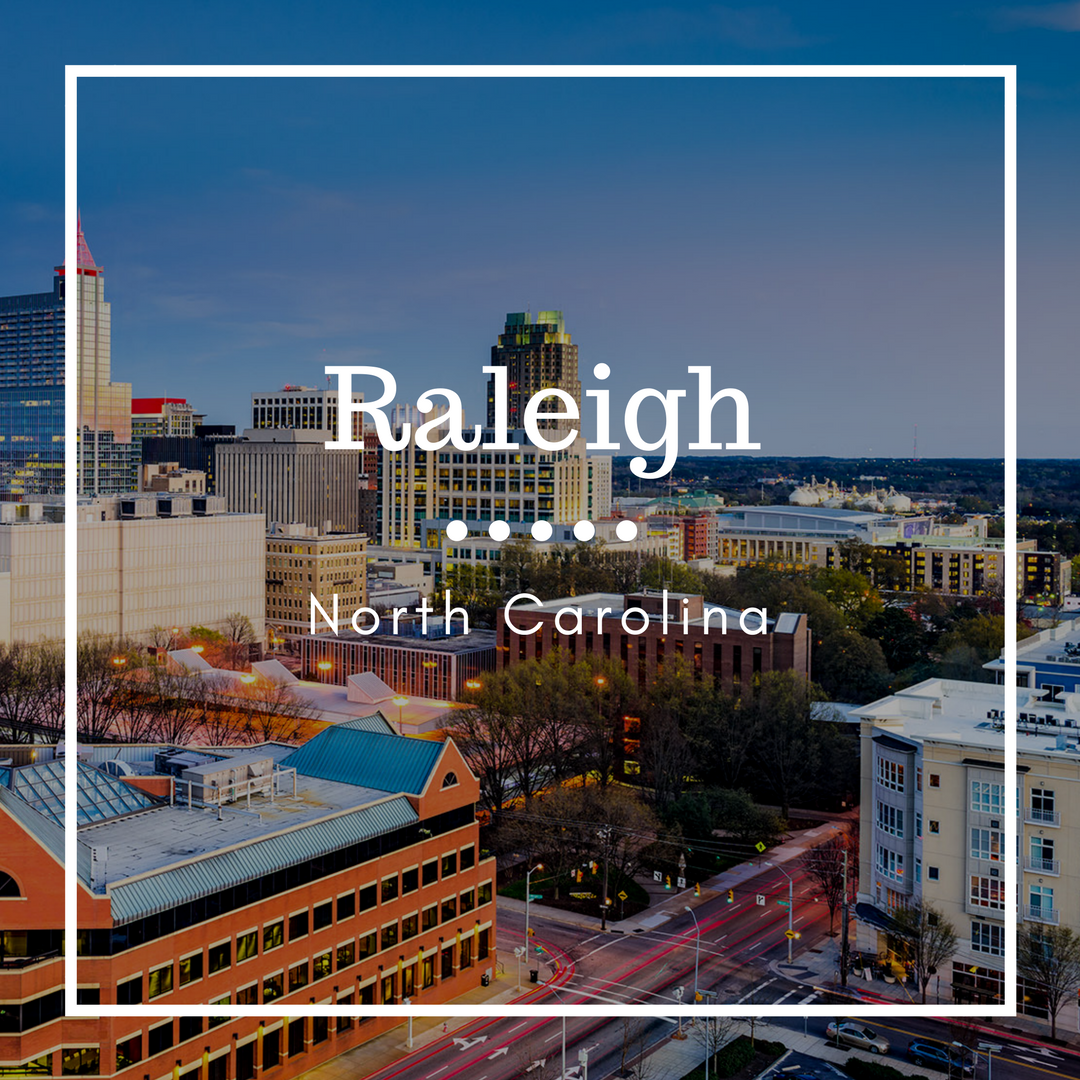 Moving to Raleigh NC