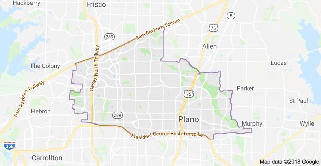 McAllen TX Map Google