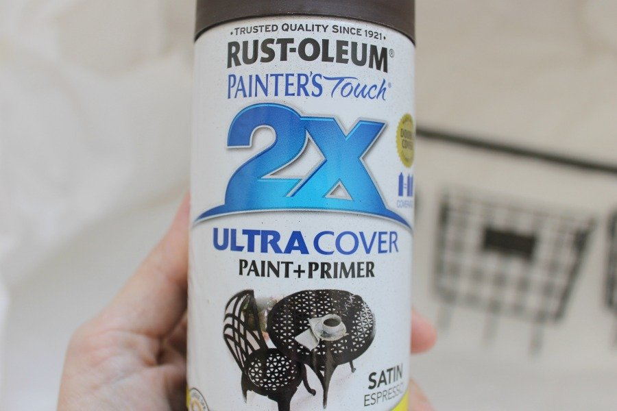 brown spray paint diy project supply