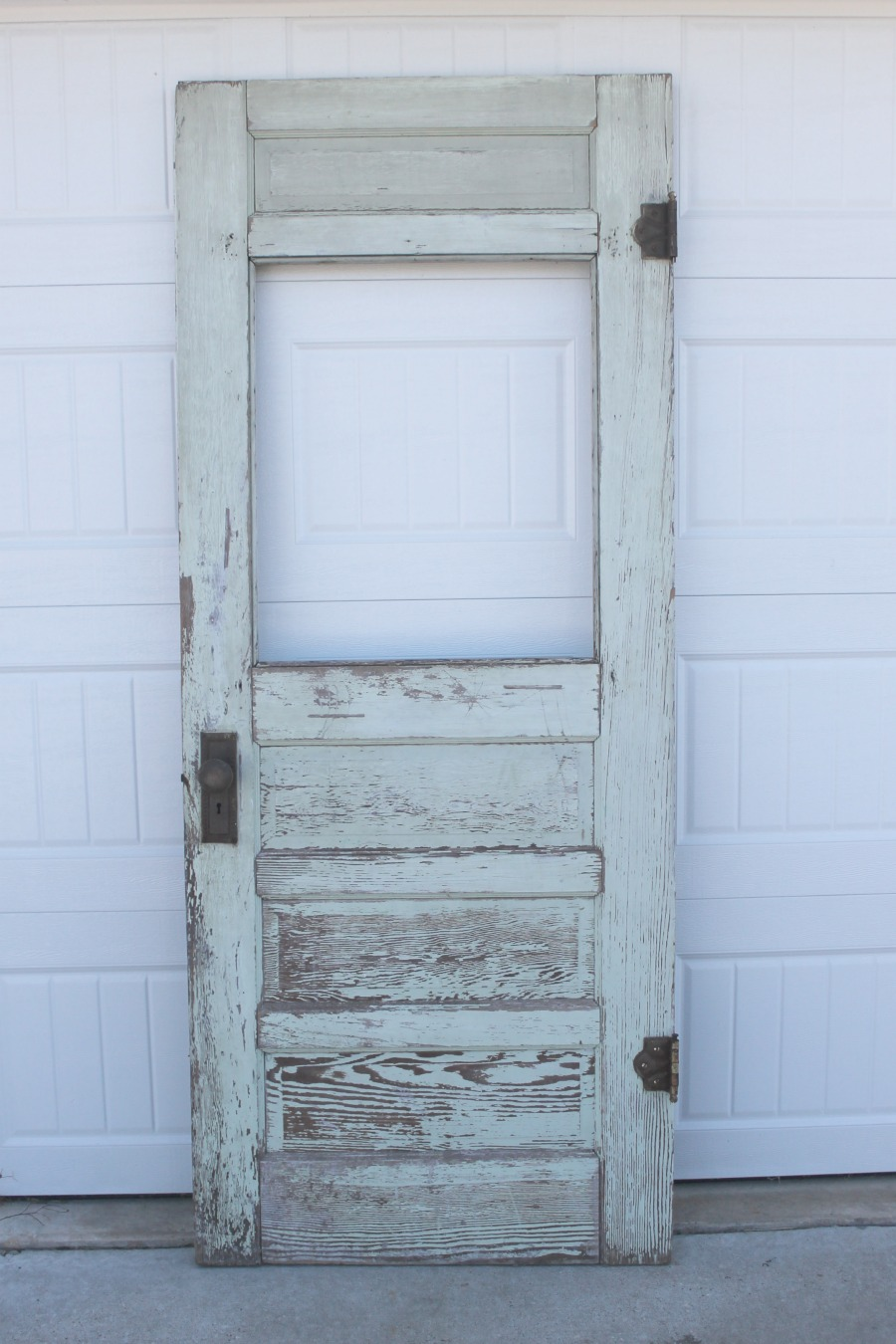 old vintage door upcycle diy project