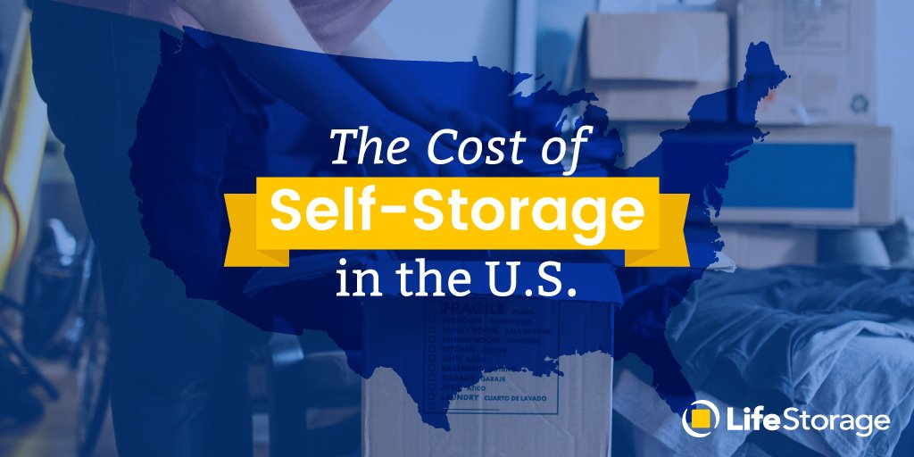 How Much Does A Storage Unit Cost In 2020 Life Storage Blog