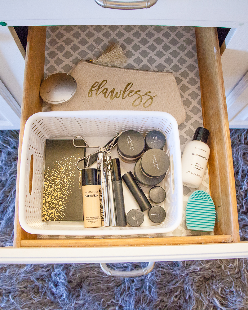 Makeup Drawer - Bathroom Storage Ideas